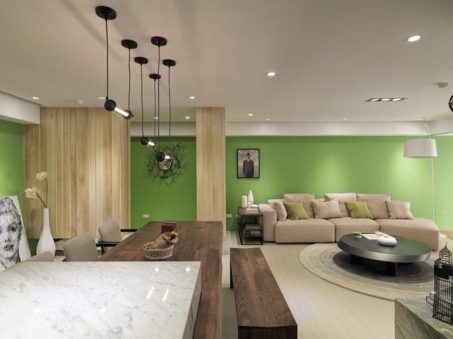开放式大视角 132平现代风格两室两厅(组图)