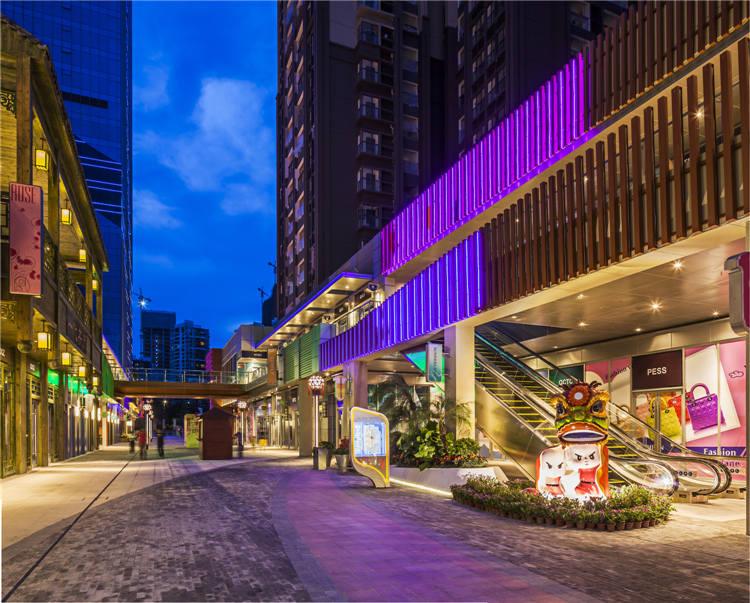 建筑欣赏:佛山南海万达广场(组图)