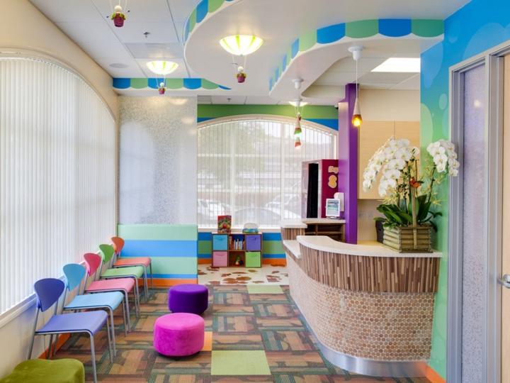 建筑欣赏:国外牙科诊所创意空间设计(组图)-装修案例