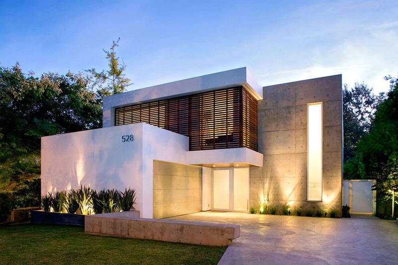 简约明亮 圣莫尼卡24th街极简现代两层住宅设计(组图)