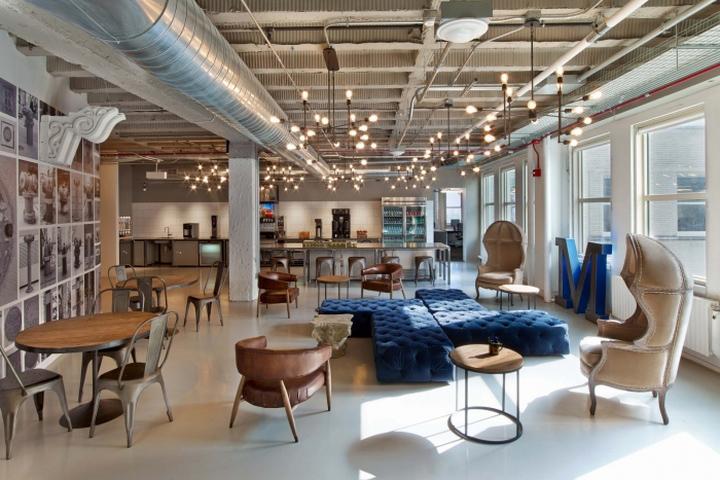 建筑欣赏:摩托罗拉移动芝加哥办公室设计(组图)