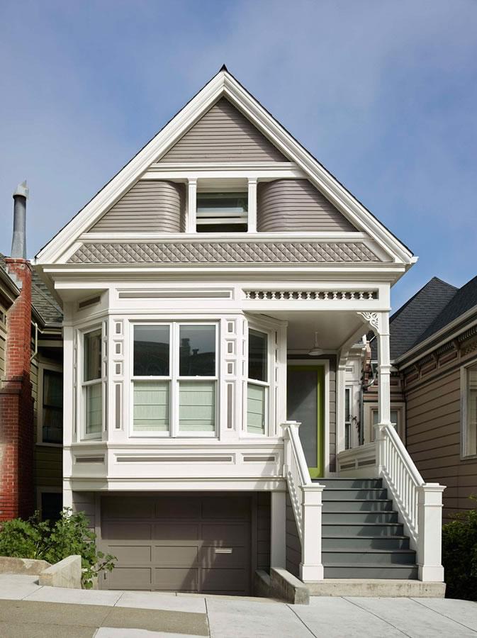 建筑欣赏:旧金山舒适温馨的维多利亚式住宅设计(组图)