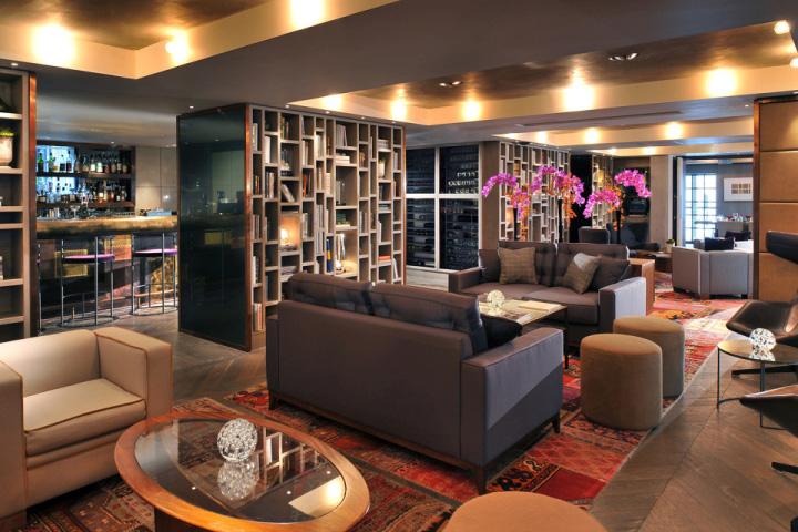 建筑欣赏:伦敦Belgraves精品酒店设计(组图)