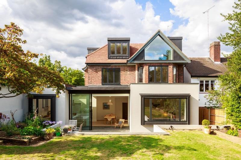 建筑欣赏:伦敦1930年代房子的现代风格改造(组图)