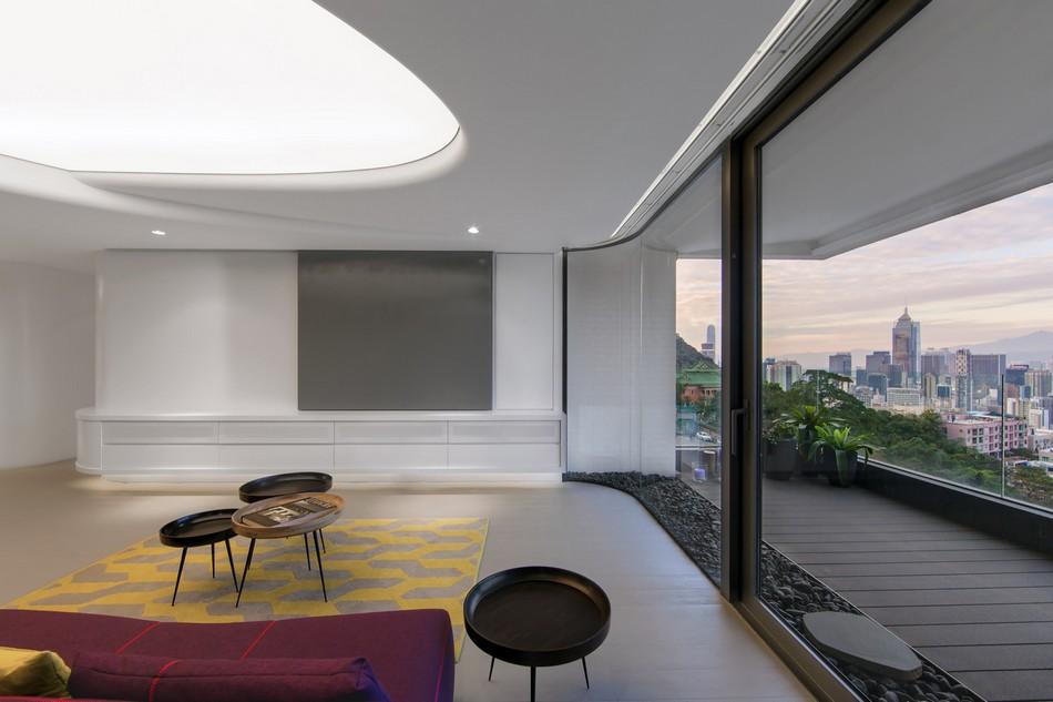 香港未来派风格 复式住宅设计(组图)
