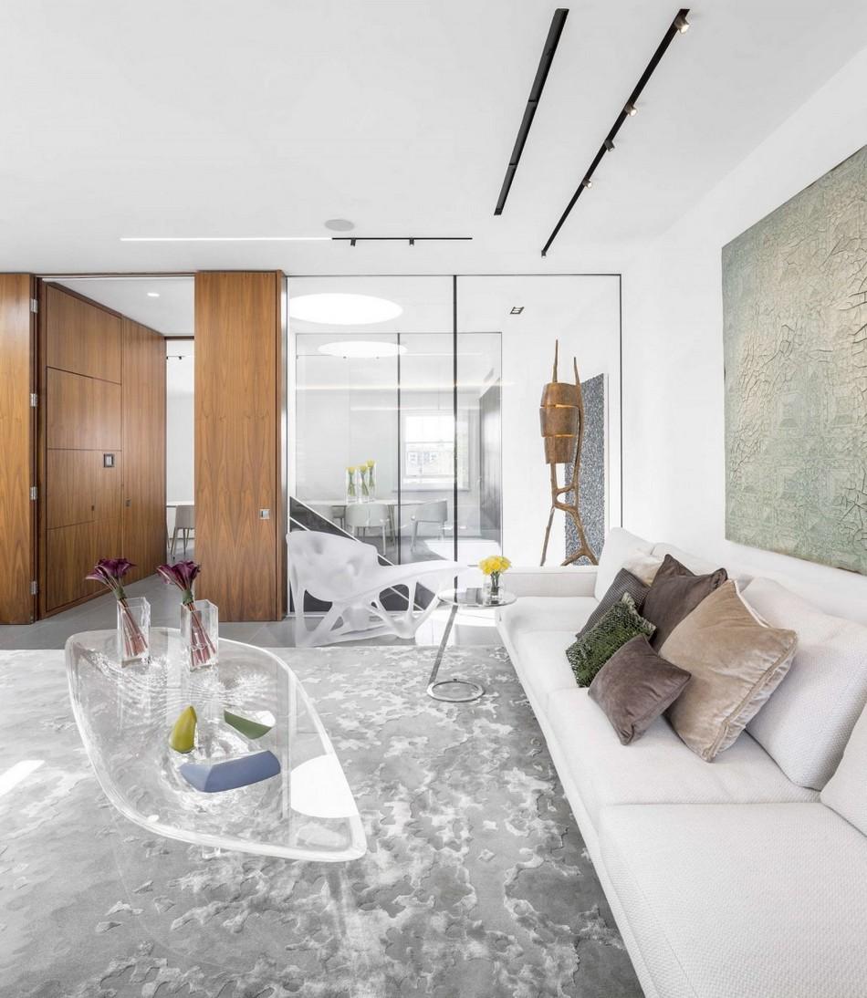 建筑欣赏:伦敦现代风格复式公寓设计(组图)