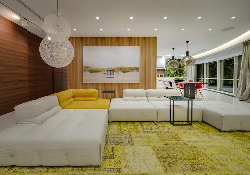 清新雅致 莫斯科现代时尚的公寓设计(组图)