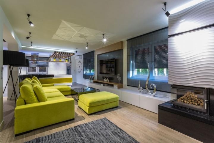 建筑欣赏:波兰时尚的现代住宅设计(组图)