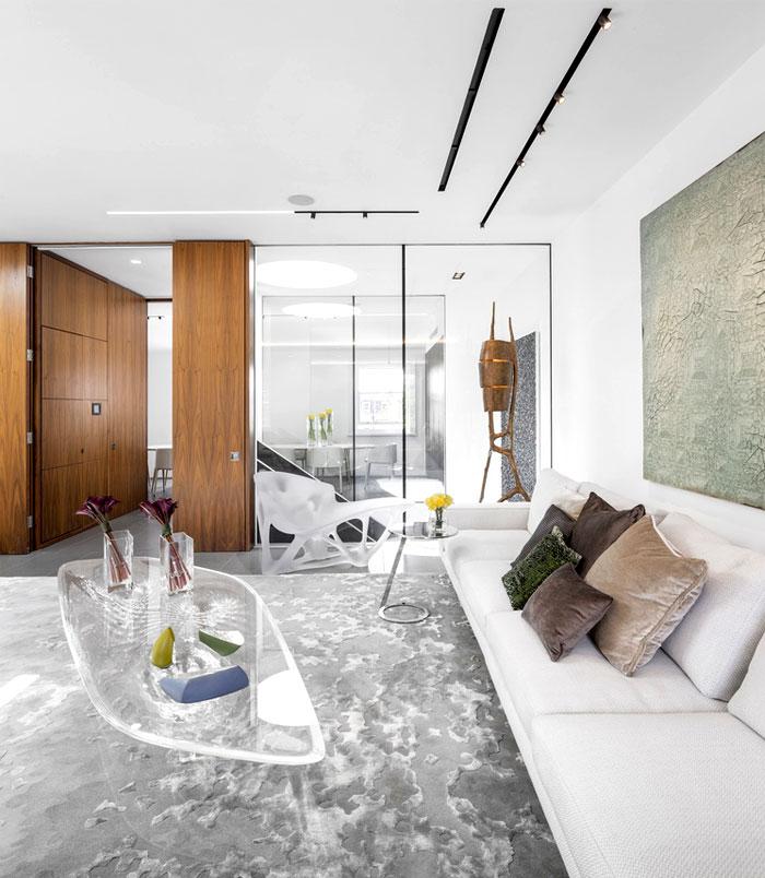 建筑欣赏:伦敦清新优雅的复式住宅设计(组图)