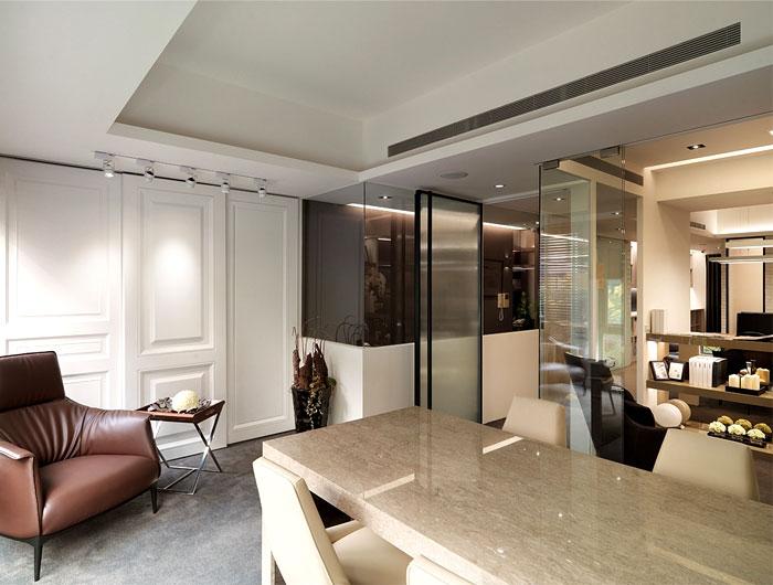 建筑欣赏:台北现代办公室空间设计(组图)