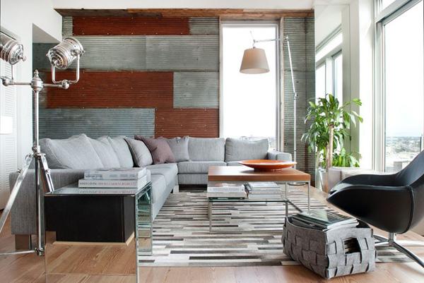 潮流前卫工业风:费城复式公寓设计(组图)