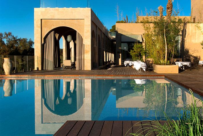 精致奢华与传统的魅力 摩洛哥非斯Sahrai豪华五星酒店(组图)
