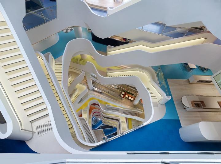 建筑欣赏:Medibank时尚彩色办公空间设计(组图)