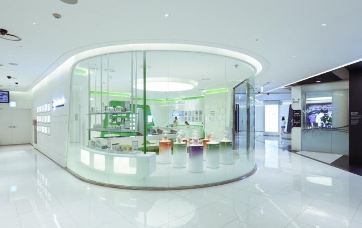 建筑欣赏:首尔Gang-nam安利广场旗舰店设计(组图)