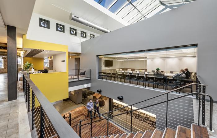 Arnold 国际传媒广告公司波士顿总部办公空间设计(组图)