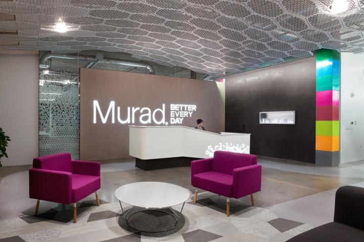 建筑欣赏:护肤品牌Murad总部办公空间设计(组图)