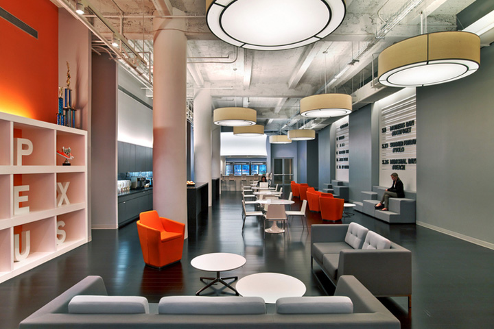 建筑欣赏:科技公司Appnexus纽约办公室设计(组图)