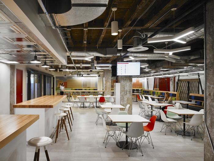 建筑欣赏:Yelp芝加哥办公空间设计(组图)