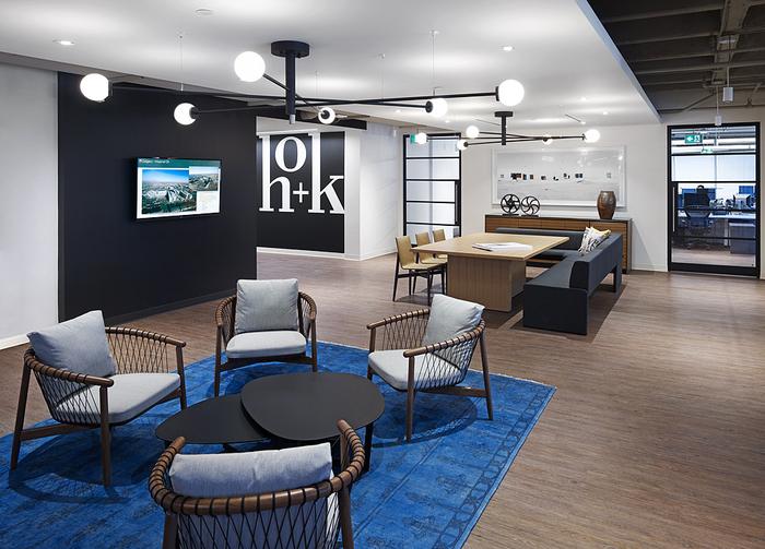 建筑欣赏:建筑设计公司HOK多伦多办公室设计(组图)