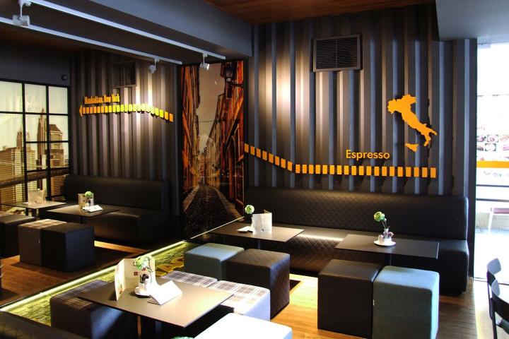 建筑欣赏:希腊State Coffee咖啡馆设计(组图)