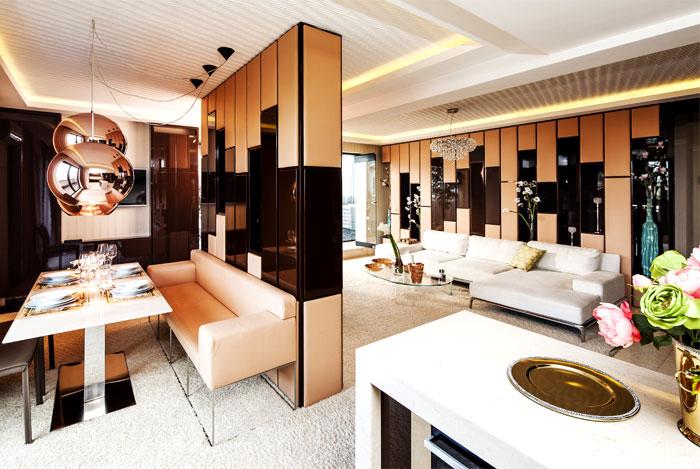 建筑欣赏:柔和保加利亚现代公寓设计(组图)