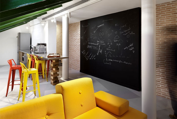 主机服务商SiteGround马德里办公室空间设计(组图)