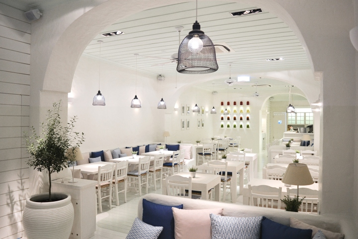 建筑欣赏:新加坡地中海风情的Alati餐厅设计(组图)