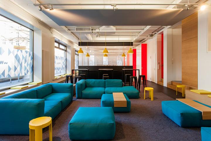 建筑欣赏:柏林Smart Digital办公室空间设计(组图)