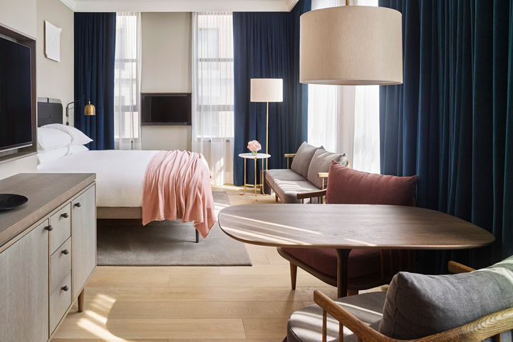 建筑欣赏:曼哈顿11 Howard精致酒店设计(组图)