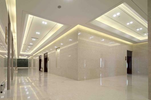 新中式地面铜板雕刻