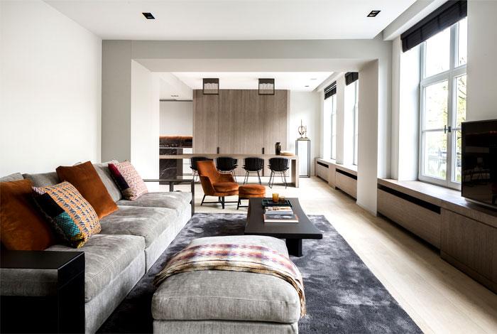 JUMA architects:简约优雅的旧房改造装修设计(组图)