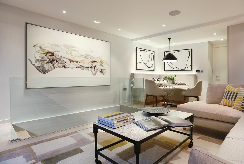 建筑欣赏:富有艺术感的伦敦townhouse联排住宅设计(组图)
