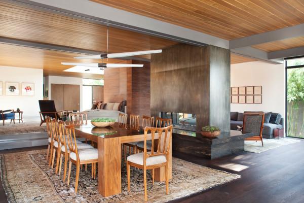 通透阳光的Santa Monica温馨别墅设计(组图)