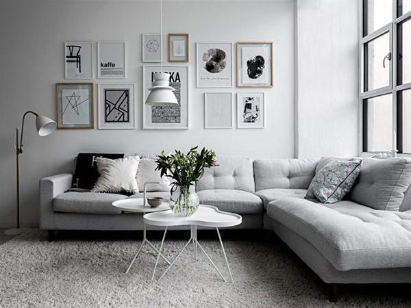瑞典白色淡雅的住宅改造设计(组图)
