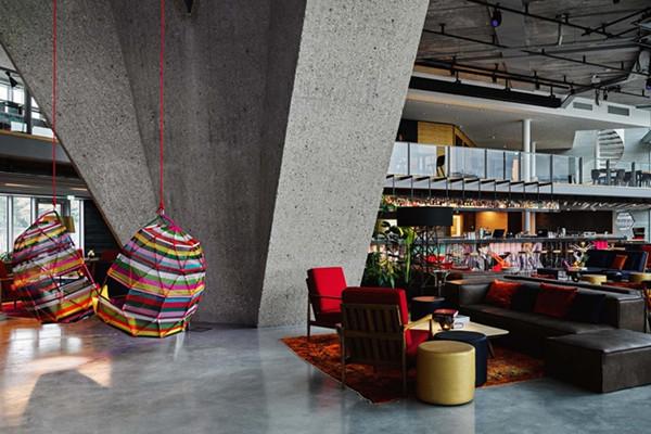 建筑欣赏:阿姆斯特丹Sir Adam酒店室内设计(组图)