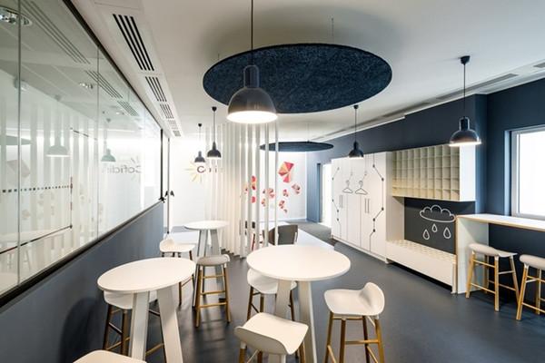 建筑欣赏:个人贷款机构cofidis办公室空间设计(组图)