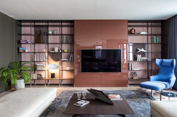 基辅现代完美的精致公寓空间(组图)