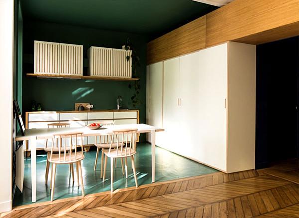 建筑欣赏:巴黎现代别致的公寓设计(组图)