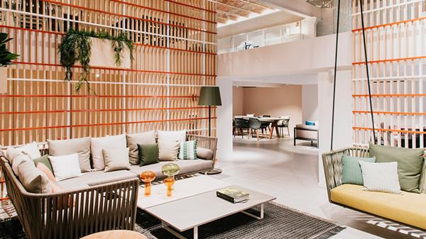 建筑欣赏:家具品牌Kettal时尚展厅设计(组图)