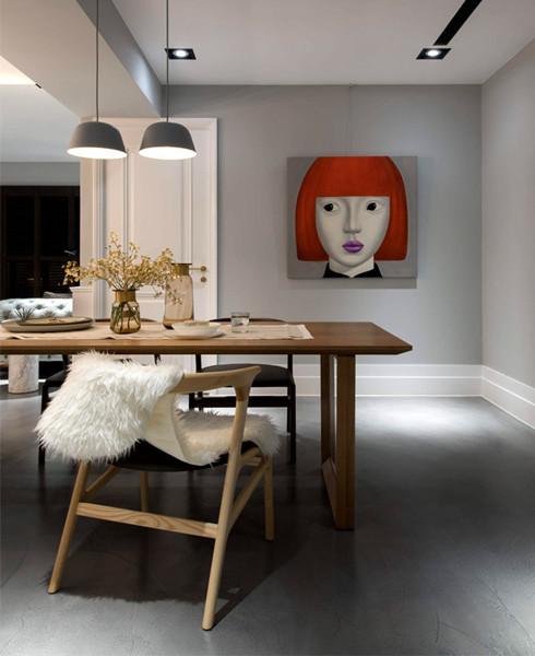 建筑欣赏:台中126平米漂亮优雅的现代公寓装修设计(组图)