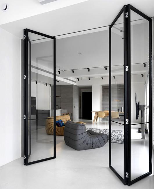 建筑欣赏:台湾新竹极简优雅的现代公寓设计(组图)
