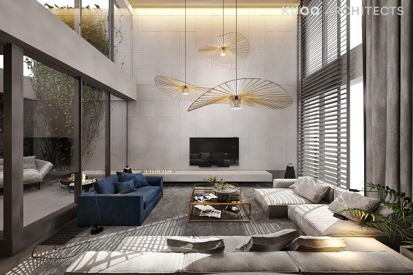 建筑设计:纽约豪华跃层住宅装修设计(组图)