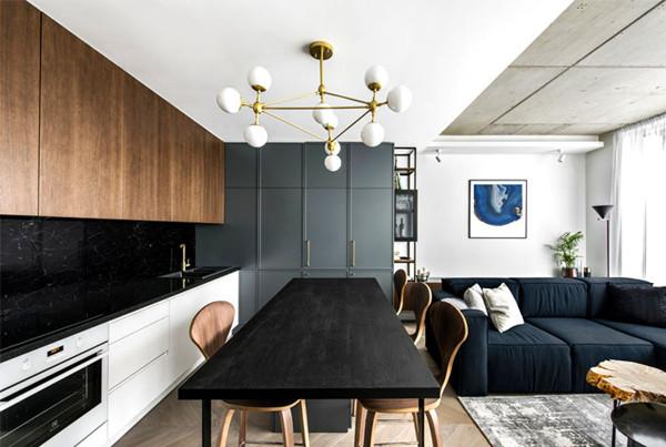 建筑欣赏:立陶宛现代舒适和豪华复式住宅设计(组图)