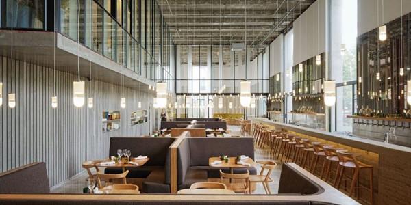 巴黎精致优雅的LES GRANDS VERRES现代餐厅(组图)