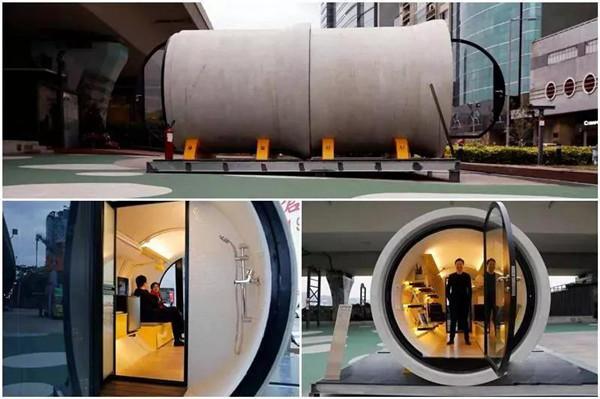 设计 | 脑洞大开,他们用水泥管做成了公寓(组图)