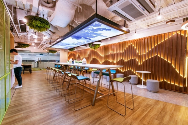 建筑欣赏:三星曼谷办公室设计(组图)