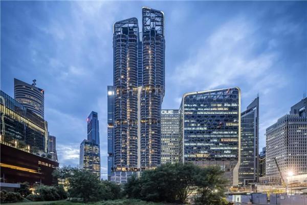 新加坡豪宅设计 珊顿云尚(组图)