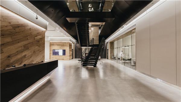 建筑欣赏:温哥华高端健身俱乐部室内设计(组图)